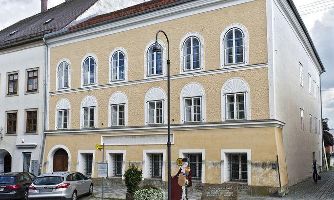Hitler-Geburtshaus in Braunau