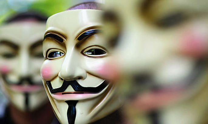Anonymous baut an sozialem Netzwerk