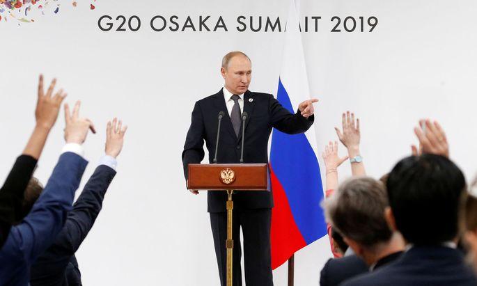 Wladimir Putin hält nichts von liberalen Werten.