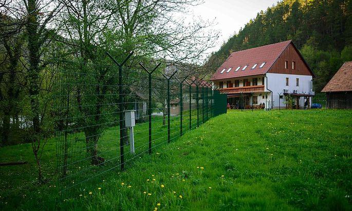 Slowenien Grenzzaun