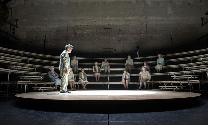 Rosa ODER Die barmherzige Erde   nach Dimitri Verhulst und William Shakespeare   Urauffuehrung im Akademietheater