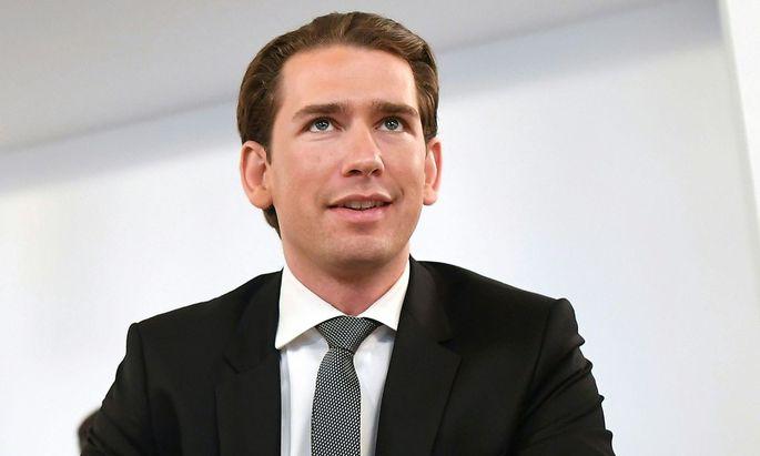 Sebastian Kurz im BVT-U-Ausschuss