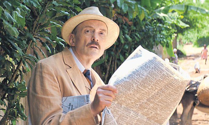 Traurige Tropen: Stefan Zweig (Josef Hader) im Exil im brasilianischen Petrópolis, wo er sich in der Nacht zum 23. Februar 1942 gemeinsam mit seiner Frau Charlotte das Leben nahm.