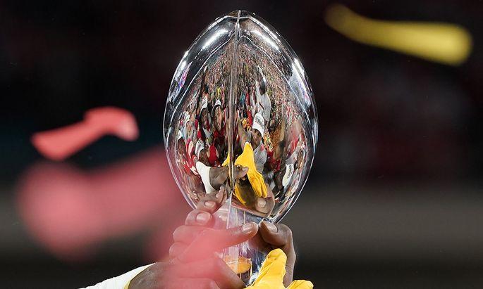 Kansas City Chiefs feiern ihren Sieg