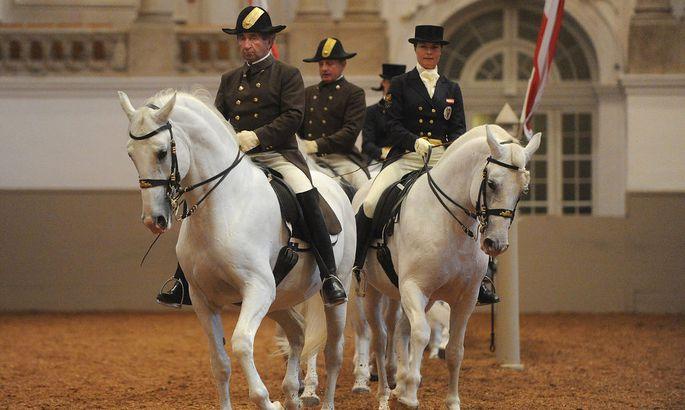 GENERALPROBE ZUR FUN RAISING GALA DER SPANISCHEN HOFREITSCHULE:... .