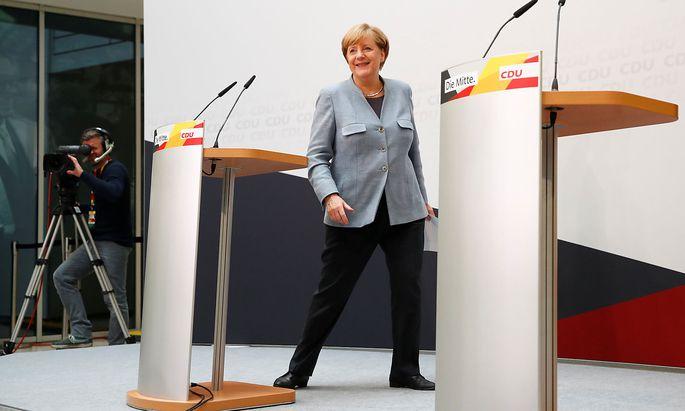 Angela Merkel will auf AfD-Wählern ein Angebot machen.