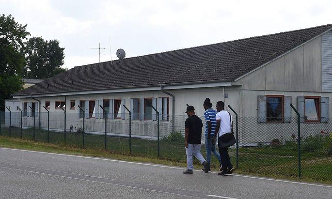 Das detusche Asylzentrum in Manching bei Ingolstadt.