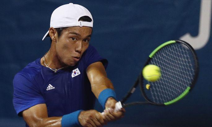 Einzigartiges Gespür: Tennisprofi Lee Duck-hee.