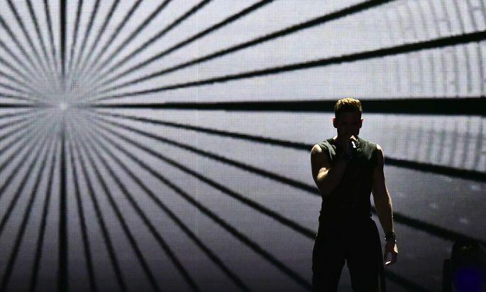 """Imri Ziv landete mit """"I Feel Alive"""" auf Platz 23 von 26"""