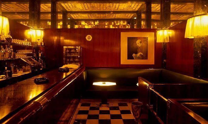Wien Jugenstil American Bar von Adolph Loos Vienna Art Nouveau American Bar by Adolph Loos ***