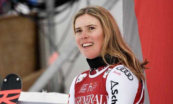 Katharina Liensberger hat noch große Pläne in diesem Winter.