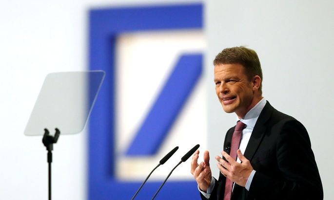 FILE PHOTO: Deutsche Bank's annual meeting in Frankfurt