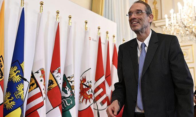 Bildungsminister Heinz Faßmann will nur eine Legislaturperioda Bildungsminister sein.
