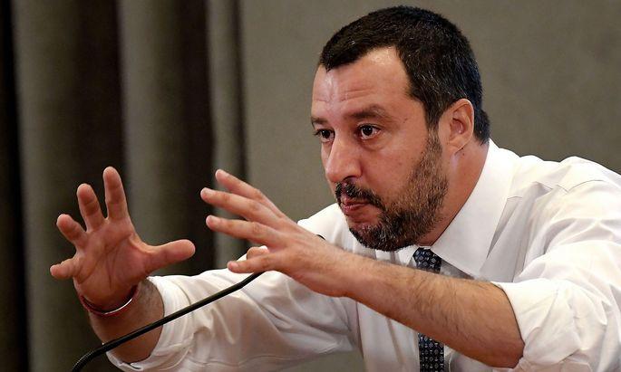 Matteo Salvini trifft die Innenminister-Kollegen aus Deutschland und Österreich.