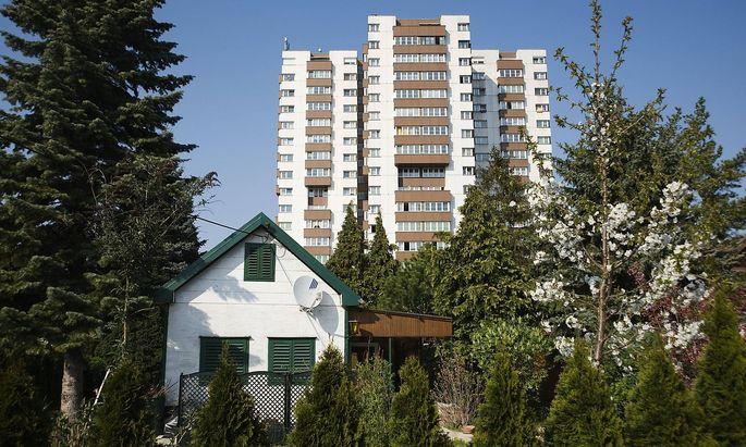 Wien Wohnhausanlage Am Sch�pfwerk Viktor Hufnagl 1976 1980 Vienna Council Tenement Block Am Sch