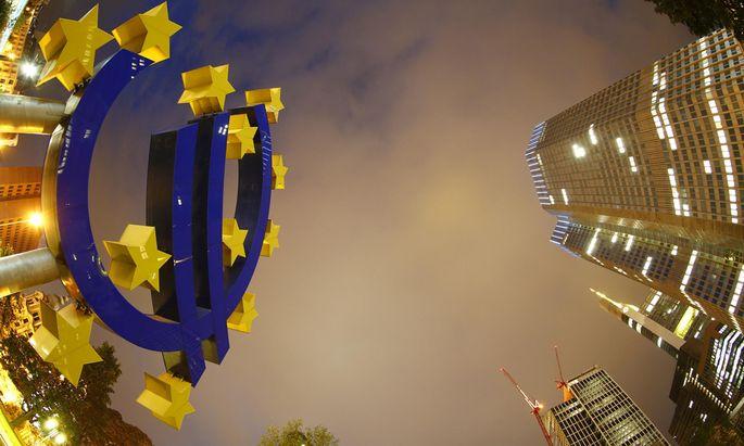 Der Freudentaumel über das frische EZB-Geld währte nur kurz.
