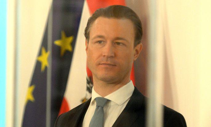 Finanzminister Gernot Blümel.