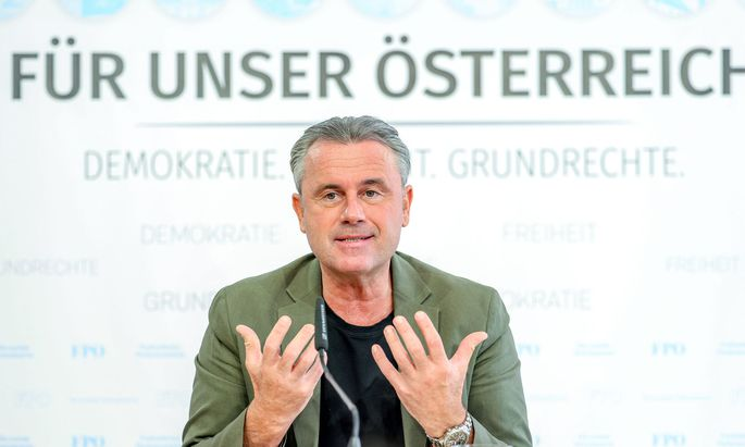 """FPÖ-Parteichef Norbert Hofer rief seine Partei via Aussendung zuletzt zu """"Ruhe und Einigkeit"""" auf."""