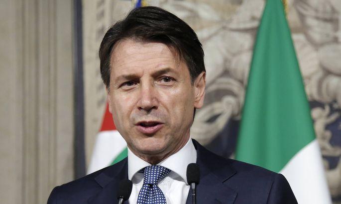 Giuseppe Conte soll Italien an der Spitze einer Populistenkoalition in eine neue Ära führen.