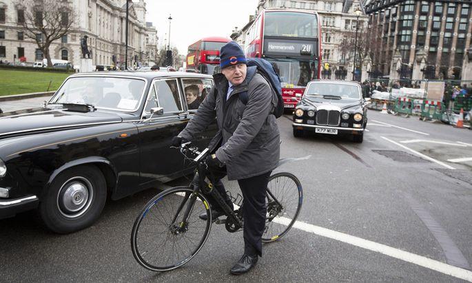 Mayor Of London Boris Johnson In London As Pound Sinks On `Brexit´ Risks