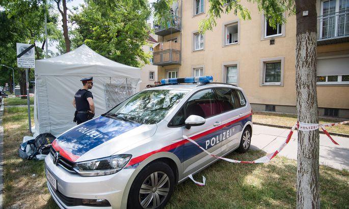 Eine 13-Jährige wurde in Wien-Donaustadt getötet.