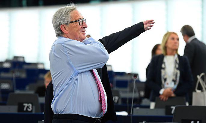Jean-Claude Junckers EU-Kommission macht ernst.