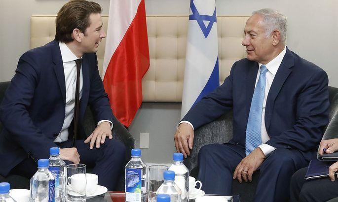 Archivbild: Sebastian Kurz und Benjamin Netanjahu