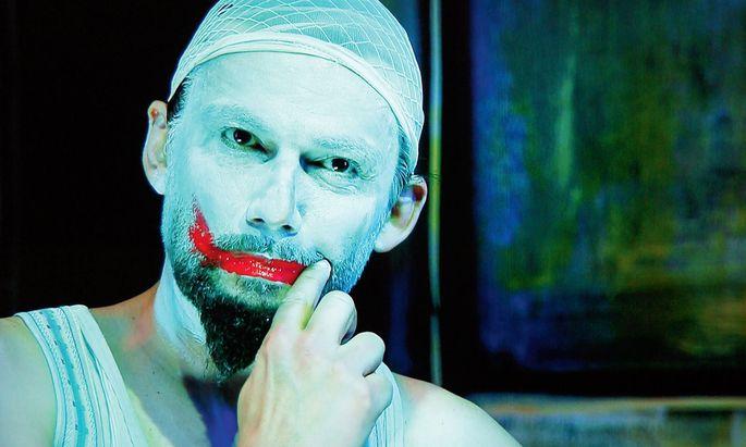 "Clown. Als Canio in Leoncavallos ""Pagliacci"", Osterfestspiele Salzburg (2015)."