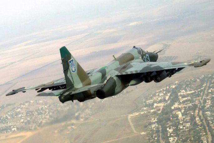 Ukrainische Su-25