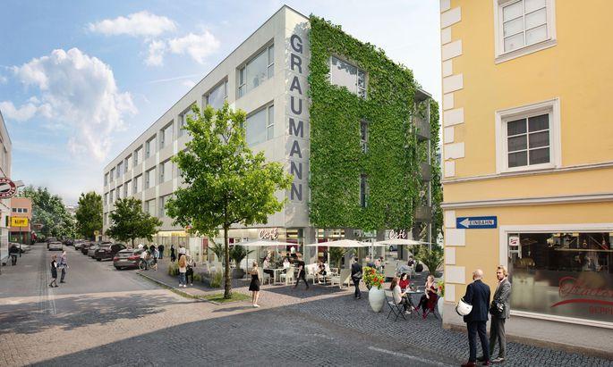 Bei den Lofts im Graumannviertel in Traun können die Nutzer mitbestimmen, wie ihr Arbeitsumfeld gestaltet sein soll.