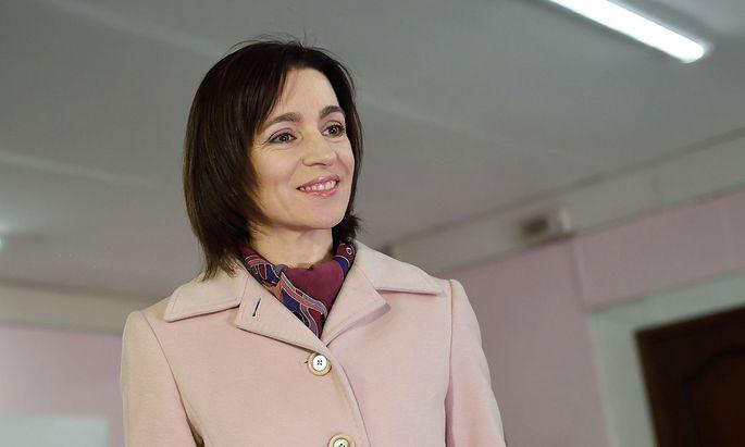 Präsidentenwahl in Moldau: Pro-Europäische Kandidatin siegt