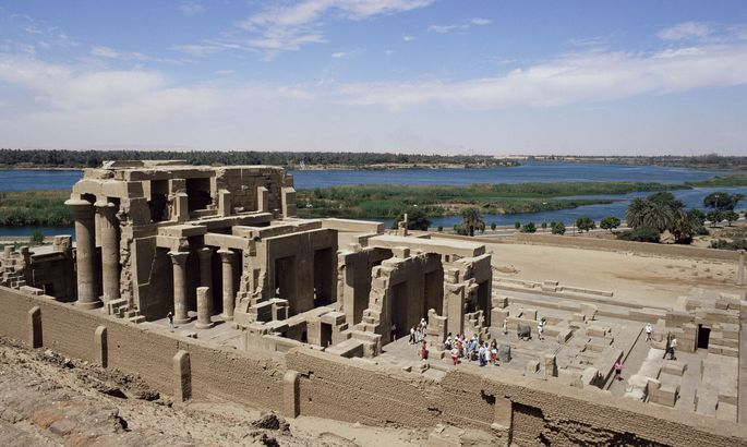 Der für seinen Tempel bekannte Fundplatz Kom Ombo am Nil war von prähistorischer Zeit bis ins 19. Jahrhundert n. Chr. besiedelt.