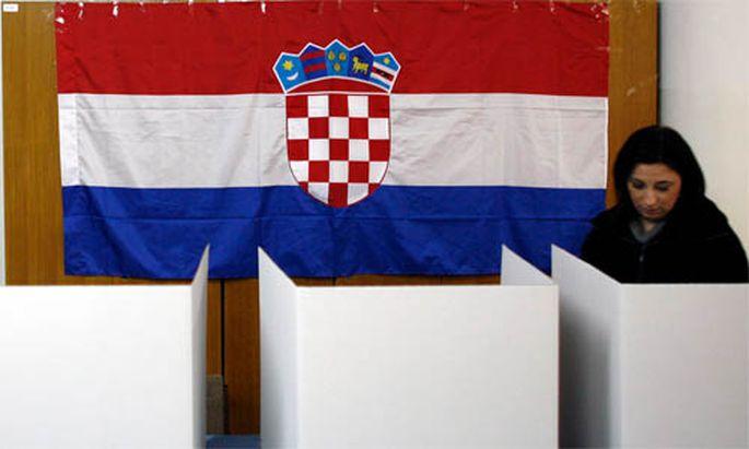 EUBeitritt Kroatiens Volk noch