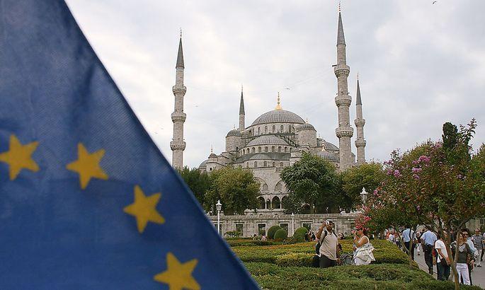 Tuerkei, Istanbul, Blaue Moschee