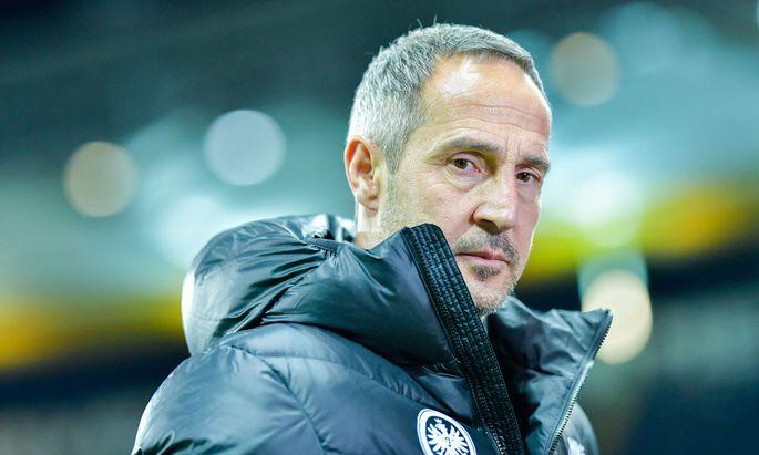 """Die """"Bild""""-Zeitung wählte den Vorarlberger Adi Hütter als """"besten Trainer der Hinrunde""""."""