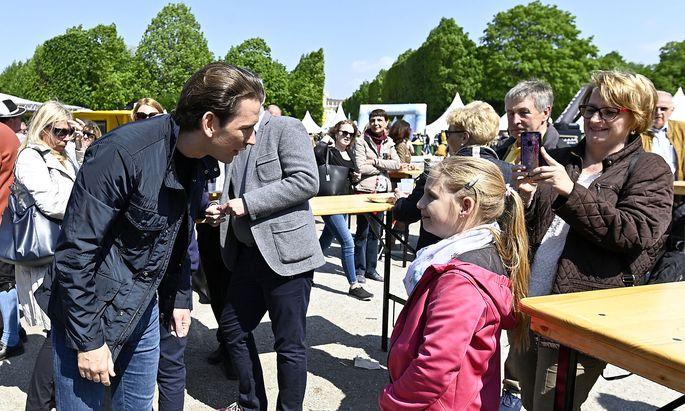 Das Familienfest fand am 1. Mai in den Schönbrunner Bundesgärten statt.