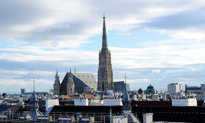 Archivbild: Die Wiener Innenstadt mit dem Stephansdom