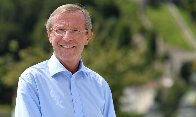 Salzburgs Landeschef, Wilfried Haslauer.