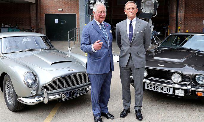 Beim Dreh in London traf Craig Prince Charles.