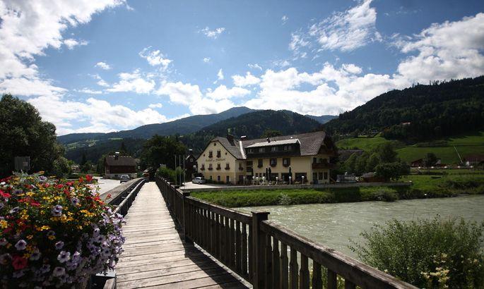 Ennsbrücke in Pruggern