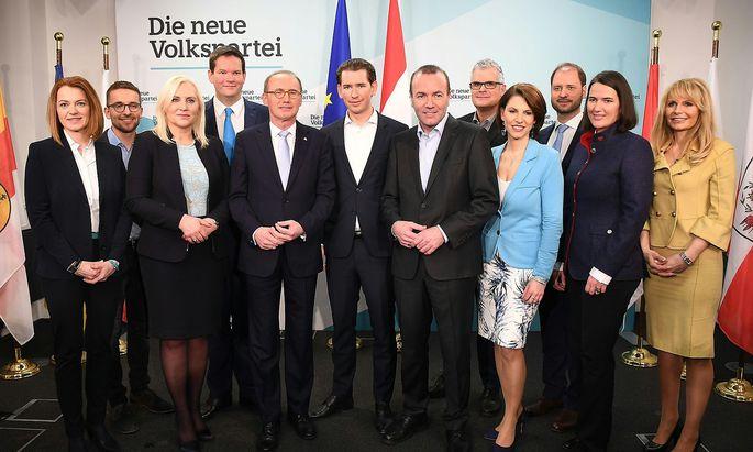 EU-WAHL: PK NACH OeVP-BUNDESPARTEIVORSTAND IN WIEN