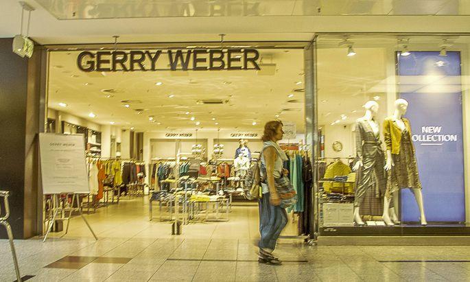 GERRY WEBER Filiale im LEZ Hannover Laatzen gesehen am 09 08 2019 *** GERRY WEBER branch in LEZ Ha