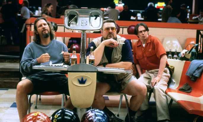 Jeff Bridges, John Goodman & Steve Buscemi Characters: Jeffrey Lebowski - The Dude,Walter Sobchak & Theodore Donald Don