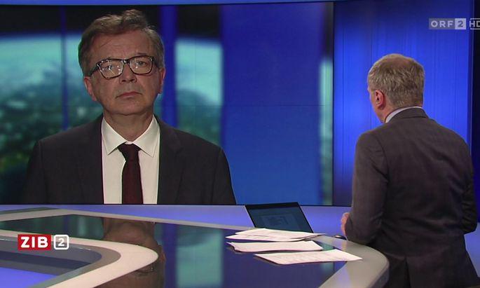 """""""Die Frage der Akzeptanz"""" sei in Tirol schwierig, meinte der Grüne Gesundheitsminister."""
