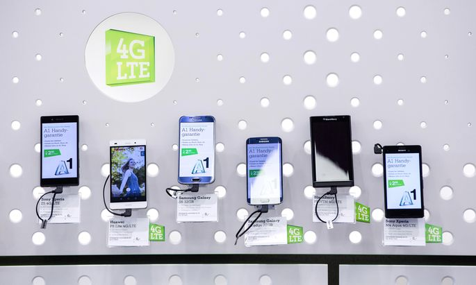 Inside An A1 Store, Operated By Telekom Austria AG, Ahead Of Full Year Earnings