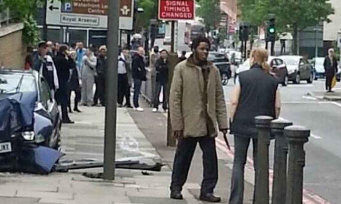 Bild vom Tatort in London