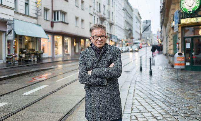 Rudi Anschoner Rudolf Anschober Cafe Eiles Akos Burg (C) Ákos Burg