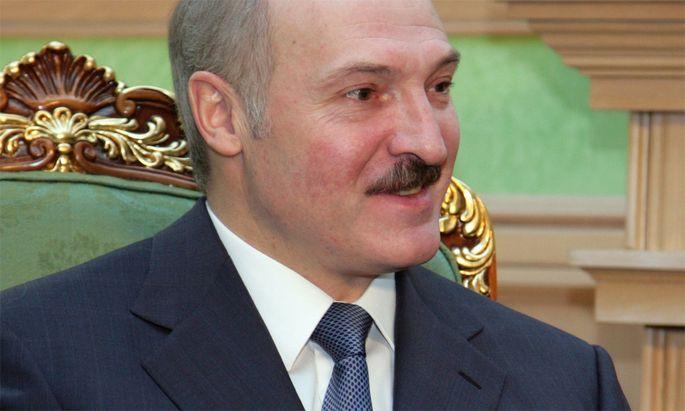 Der autoritäre Präsident Alexander Lukaschenko.