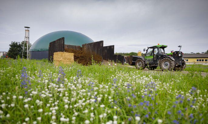"""Die Debatte """"Teller oder Tank"""" war gestern. Heute werden Biogasanlagen nur noch mit agrarischen Reststoffen gespeist."""