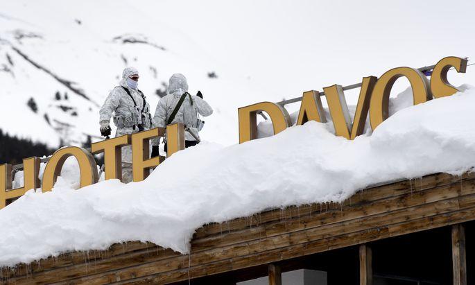 Am Dienstag beginnt unter strenger Bewachung Hunderter Polizisten das Weltwirtschaftsforum in Davos in der Schweiz.